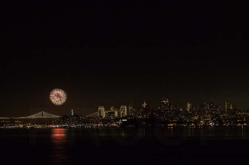 New Years Eve. San Francisco, CA